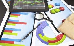 Financiële programma's Stock Foto's