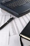 Financiële rekeningen Royalty-vrije Stock Afbeeldingen