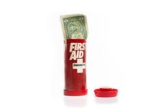 Financiële steun stock afbeelding