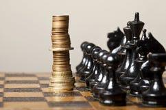 Financiële strategie Stock Afbeelding