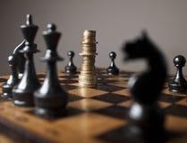 Financiële strategie Royalty-vrije Stock Foto