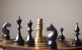 Financiële strategie Royalty-vrije Stock Foto's