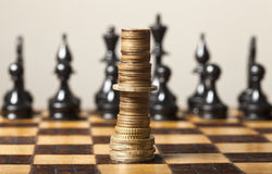 Financiële strategie Royalty-vrije Stock Fotografie