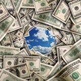 Financiële tunnel Royalty-vrije Stock Afbeelding