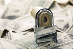 Financiële veiligheid Royalty-vrije Stock Afbeeldingen