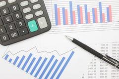 Financiële Verklaringen Royalty-vrije Stock Afbeeldingen