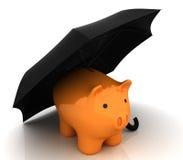 Financiële verzekering Royalty-vrije Stock Foto's