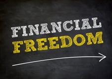 Financiële Vrijheid Royalty-vrije Stock Afbeeldingen