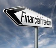 Financiële vrijheid en onafhankelijkheid Royalty-vrije Stock Fotografie