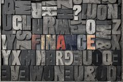 Financiën Stock Fotografie