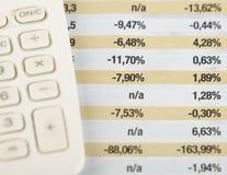 Financiën Stock Afbeelding