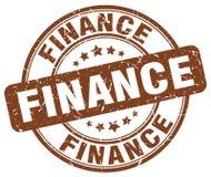 financiën bruine zegel stock illustratie