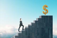 Financiën en rijk concept stock foto