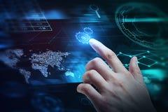 Financiën en toekomstig concept Stock Afbeelding