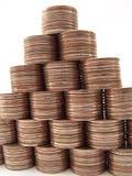 Financiën Pyramide Royalty-vrije Stock Foto