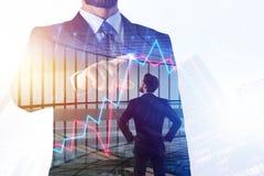 Financiën, werkplaats en onderzoekconcept royalty-vrije stock afbeeldingen
