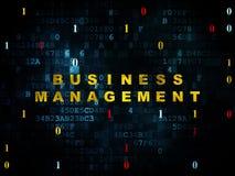 Financiënconcept: Bedrijfseconomie op Digitaal Royalty-vrije Stock Foto