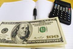 Financiëngeld planningsconcept stock afbeeldingen