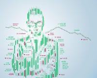 financiënpersoon vector illustratie