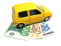 Financiación de un coche Fotos de archivo libres de regalías