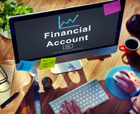 Financial Account Money Cash Growth Analysis Concept Stock Images