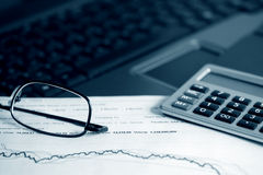 Financial accounting Royalty Free Stock Photography