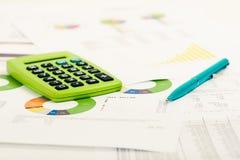 Financial accounting Stock Photo