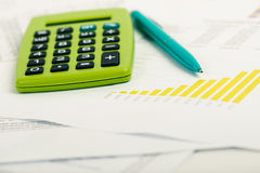 Financial accounting Royalty Free Stock Image