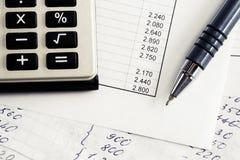 Financial accounting royalty free stock photo