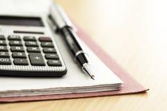 Financial accounting Royalty Free Stock Photos