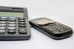 Financial Accounting Phone Stock Image