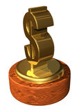 Financial achievement award Stock Photo
