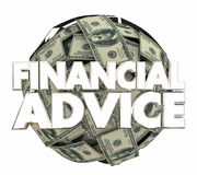 Financial Advice Money Service Investment Adviser 3d Illustratio. N Stock Images