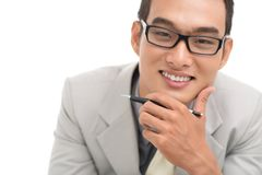Financial adviser Stock Images