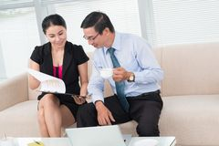 Financial advising Royalty Free Stock Photo
