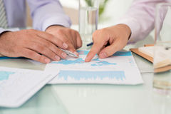 Financial advisor Stock Images