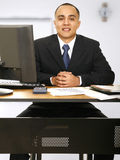 Financial Advisor At Your Service Stock Photo