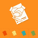 Financial Agreement, Handshake Royalty Free Stock Image