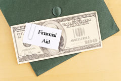 Financial Aid For College Stock Photos