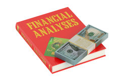 Financial Analyses concept. On the book Stock Images