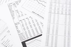 Financial analysis. Royalty Free Stock Images