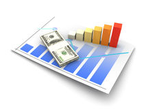 Financial analysis Stock Images
