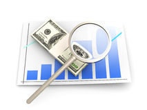 Financial analysis Royalty Free Stock Photo