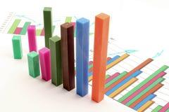 Financial analysis Stock Image