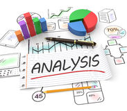 Financial analysis. As a concept Stock Photography
