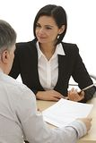 Financial analysis, business meeting Stock Images