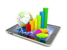Financial analysis concept Royalty Free Stock Image