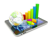 Financial analysis concept Royalty Free Stock Photo