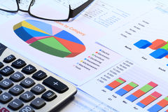 Financial Analysis Royalty Free Stock Images