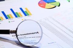 Financial Analyze Royalty Free Stock Photography